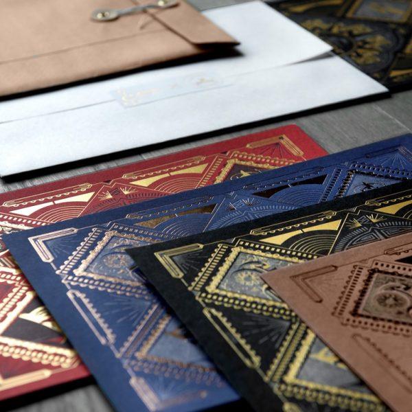 Affichettes Letterpress Cartographik
