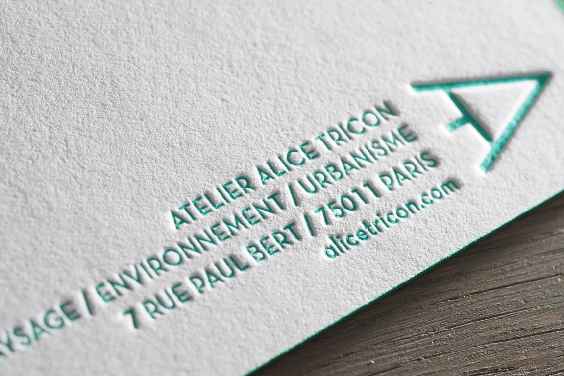 Carte de voeux sur papier kraft (4)