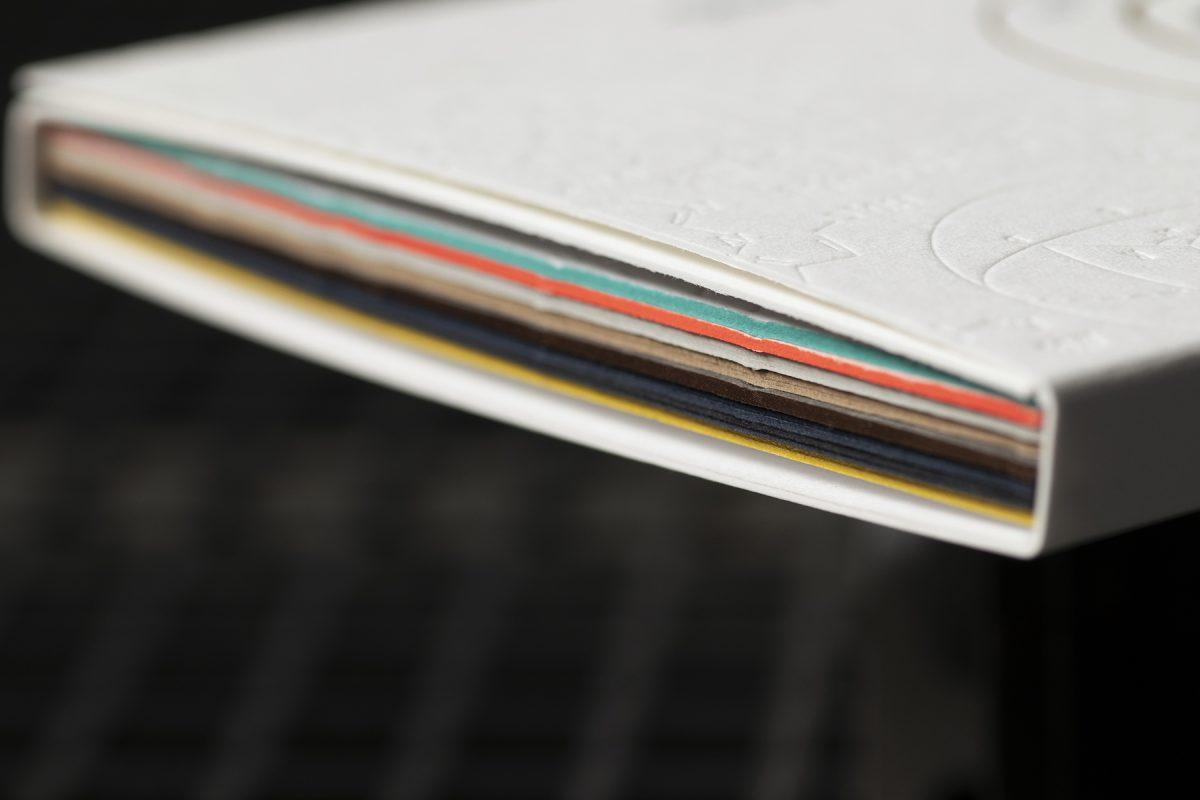 Kit d'échantillons Letterpress