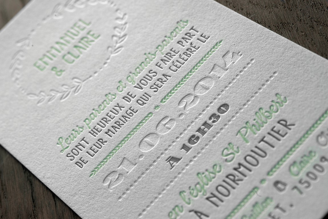 Faire Part Letterpress (1)