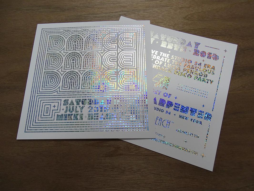 Carton invitation holographique (1)