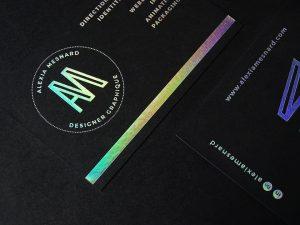 Une Carte De Visite Design Pour Faire Ressortir Votre Image