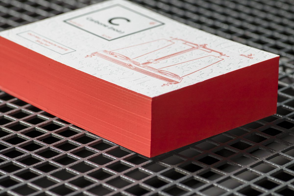 Cartes Letterpress - Old Mill